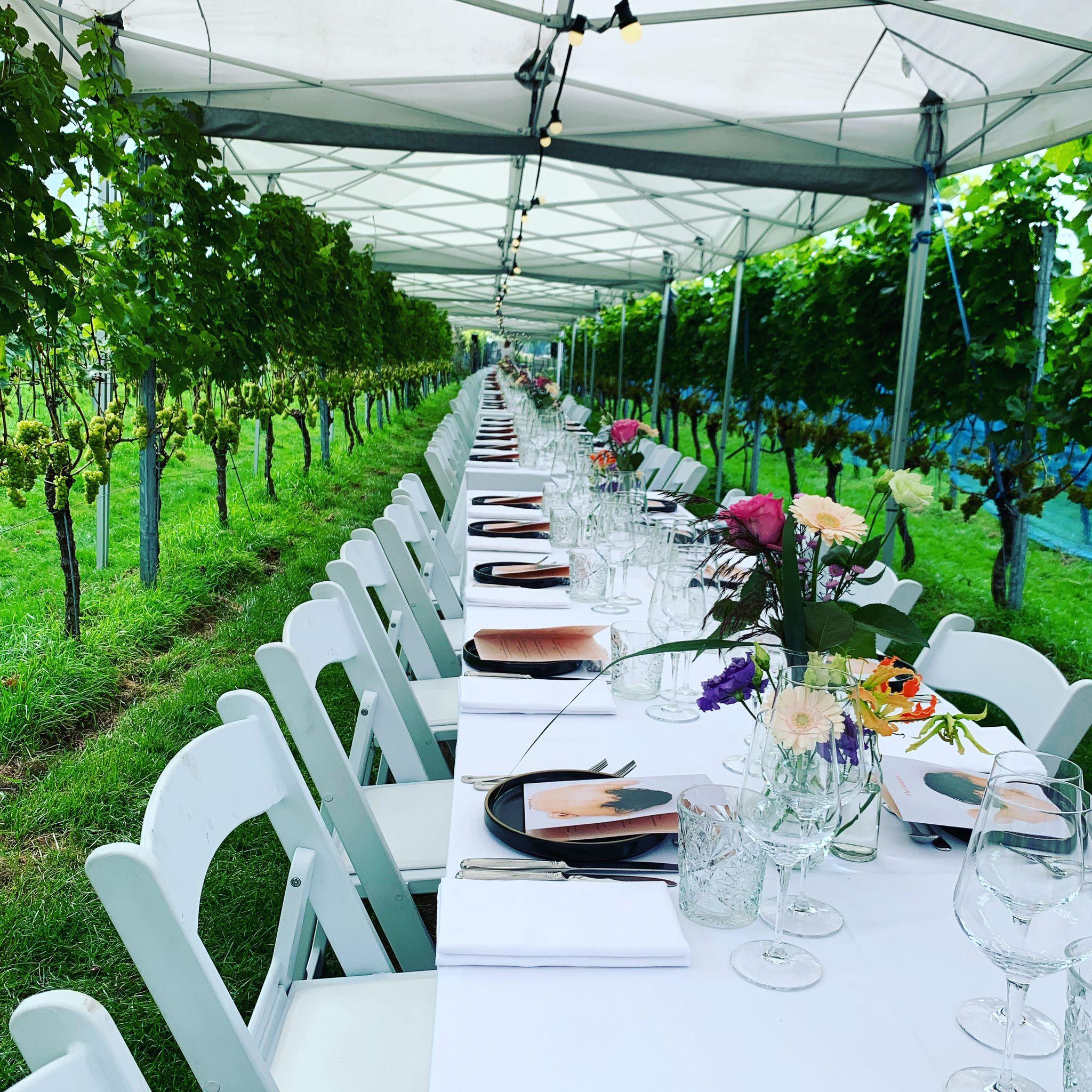Truffellunch Wijngaard de Amsteltuin